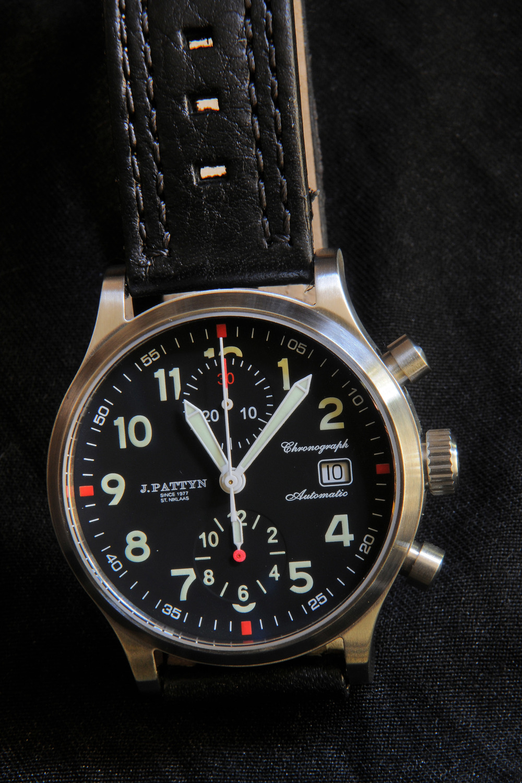 automatische chronograaf €1430