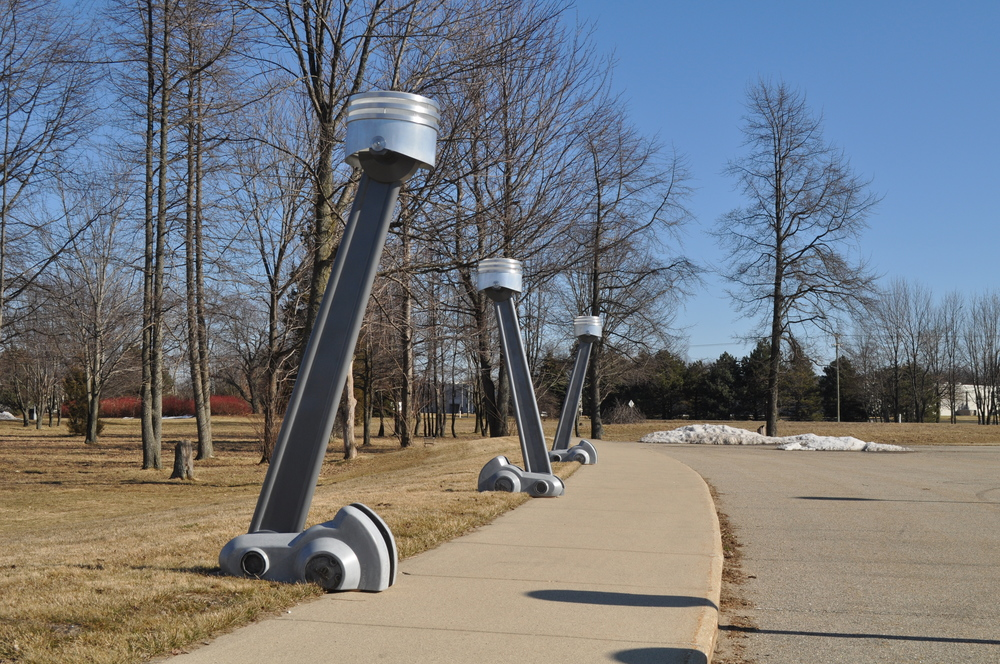 As they will be installed on the walkway in Maryland