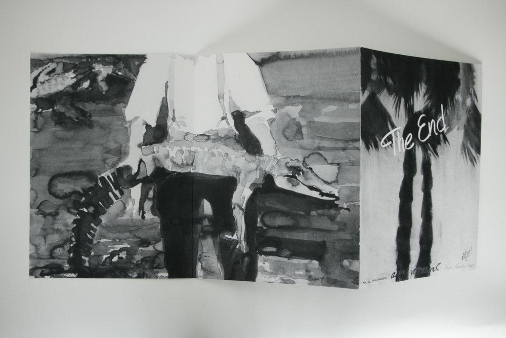 """Aqua Animal, 2018, inkjet on Hahnemühle, 13"""" x 9 1/2"""""""
