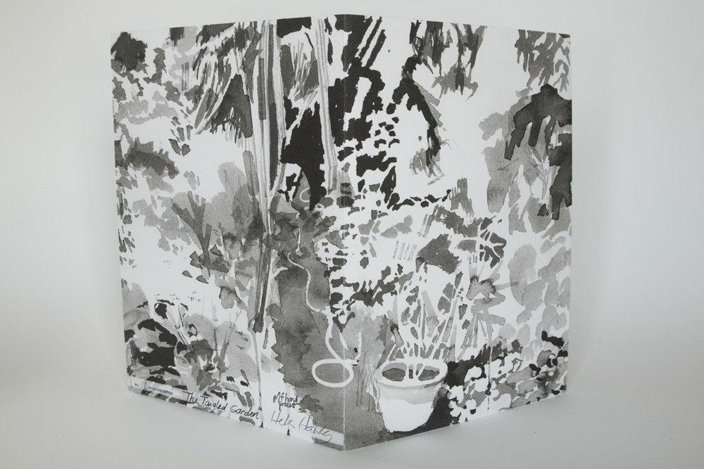 "The Tangled Garden, 2019, inkjet on Hahnemühle, 13"" x 9 1/2"""