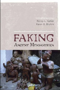 """Faking Ancient MesoAmerican""    By Drs. Karen Bruhn and Nancy K. Kelker  Published November 2009, Credited Research Assistant Sher Fick  15 Illustrations by Sher Fick"