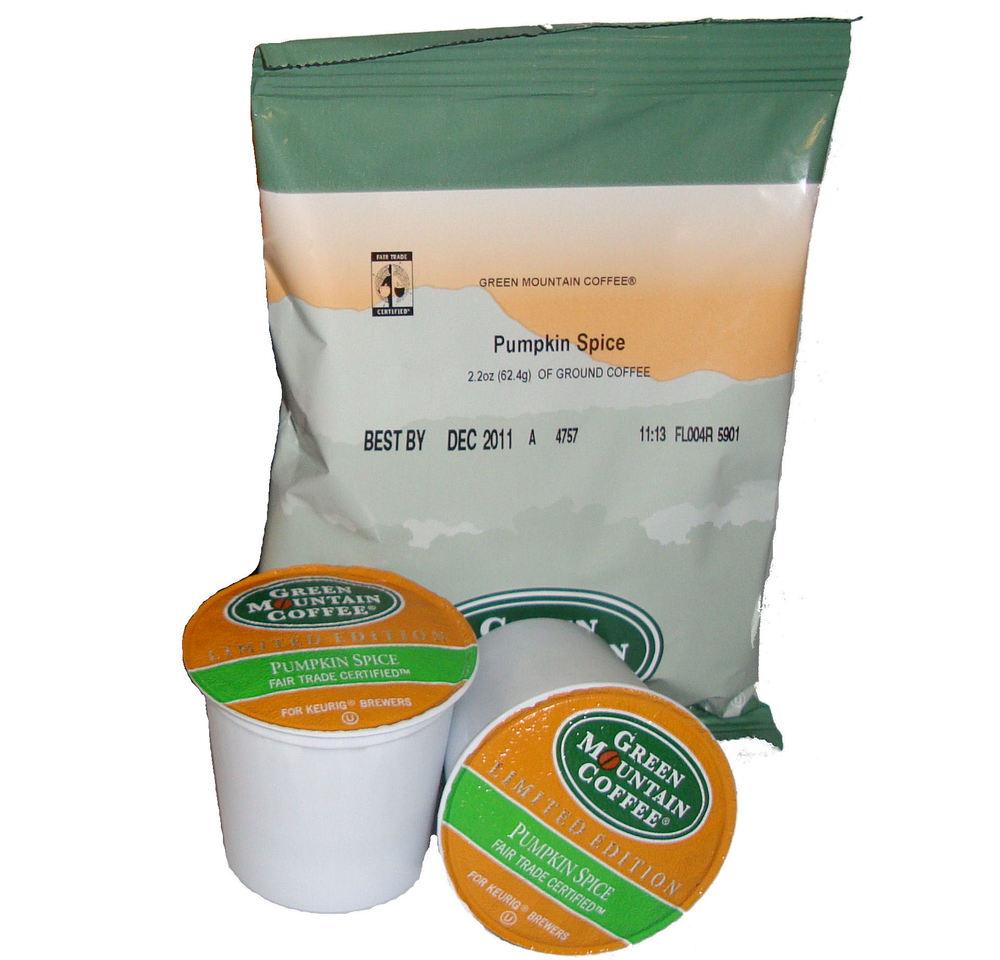 Green Mountain Pumpkin Spice Seasonal Coffee