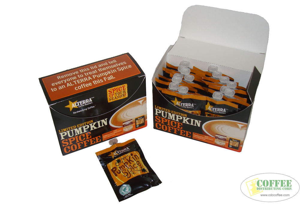 Alterra Pumpkin Spice Self-Merchandising Kits