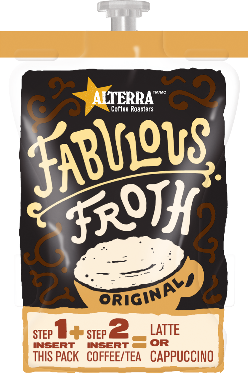 Fabulous Froth Filterpack