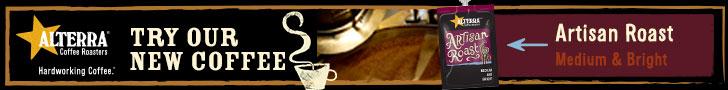Alterra Artisan Roast Web Banner