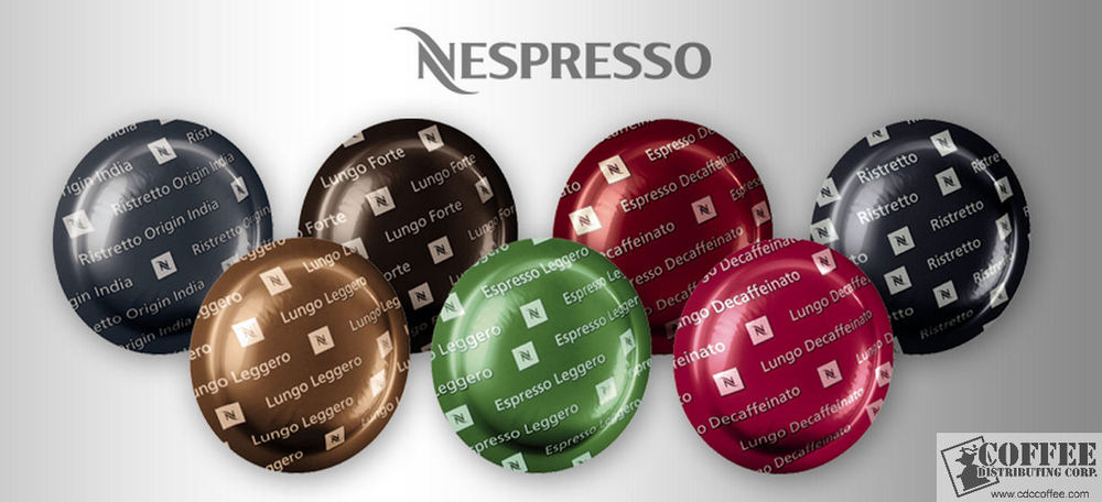 order nespresso through cdc coffee distributing corp. Black Bedroom Furniture Sets. Home Design Ideas