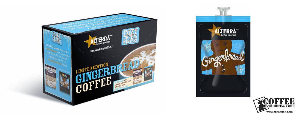 Alterra Seasonal Gingerbread Coffee