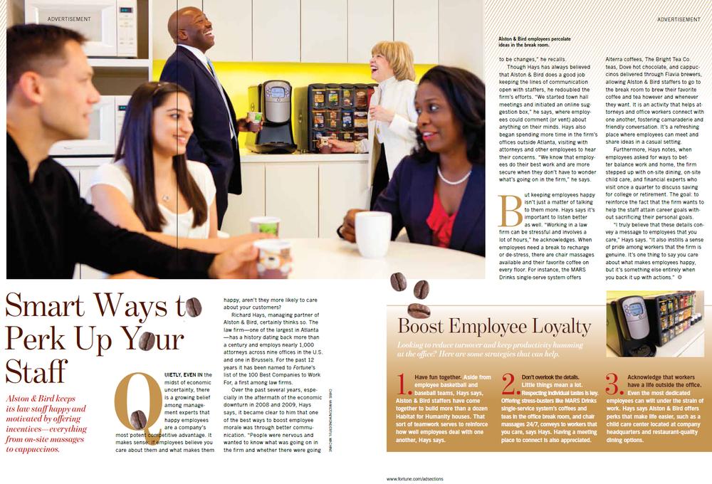 Flavia Ad In Fortune Magazine