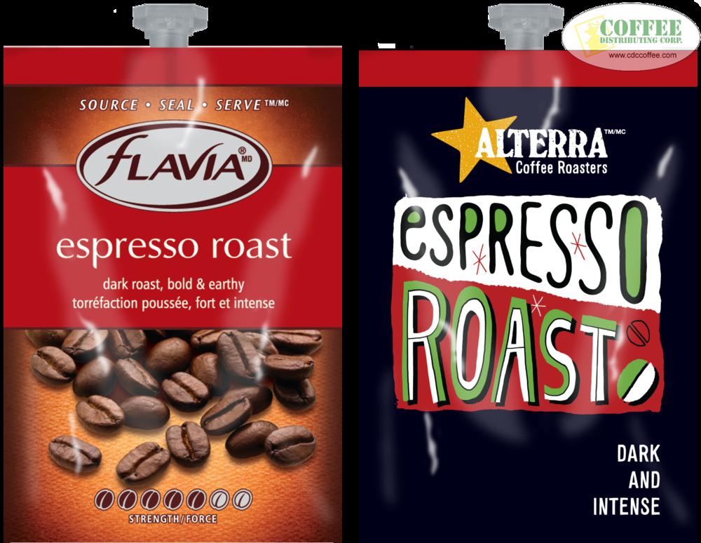 Espresso Roast Coffee ~ Alterra espresso roast replaces flavia