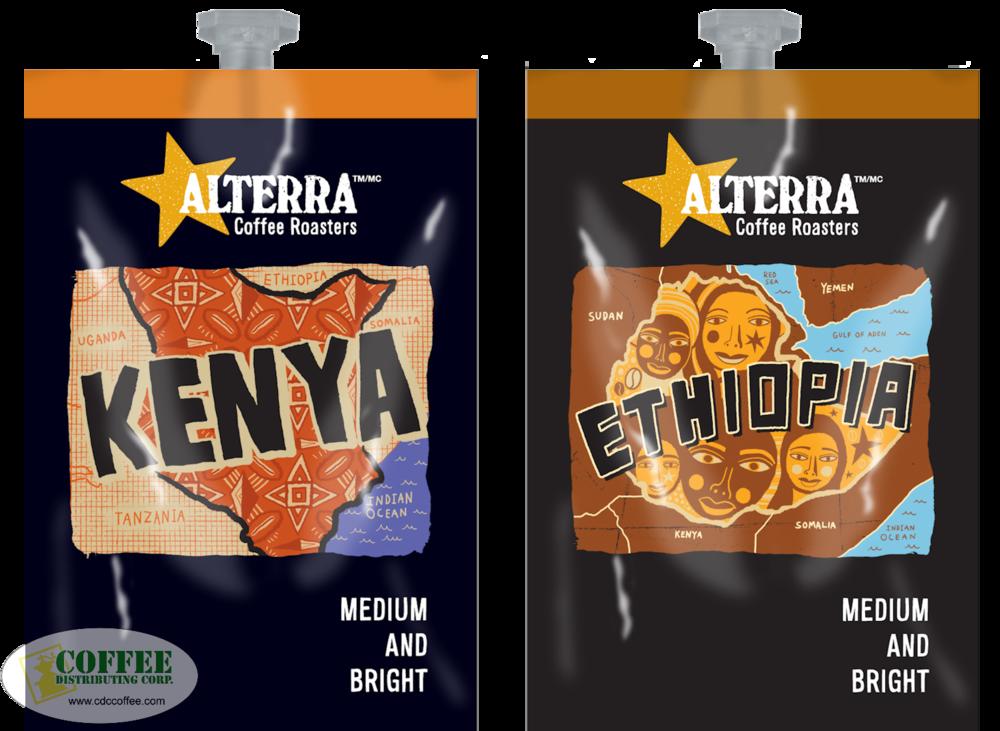 Alterra Medium and Bright Coffee Category