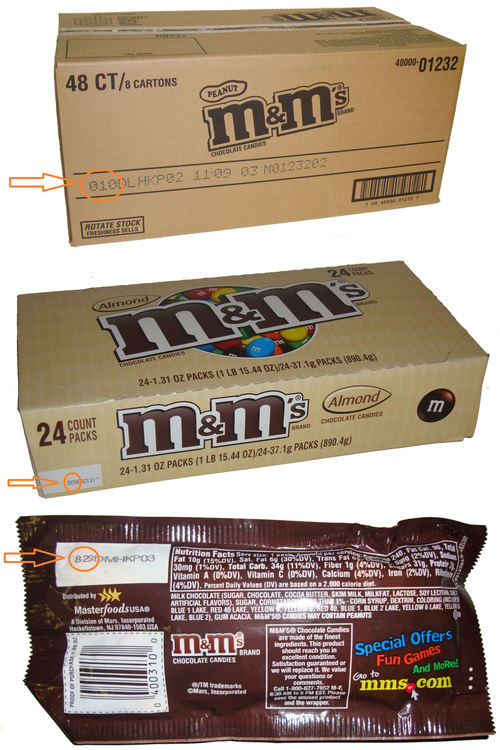 How To Read Mars Candy Expiration Codes The Coffee Refreshment Experts