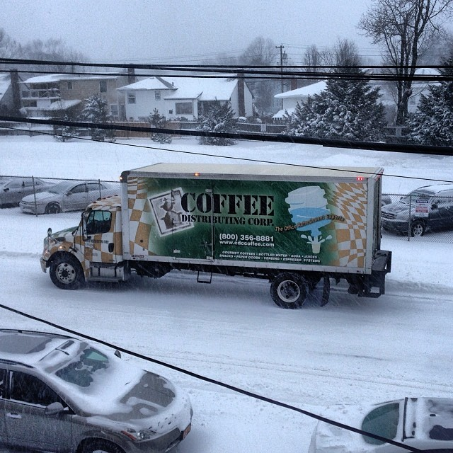 #iseecdctrucks dashing through the snow