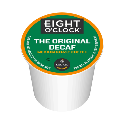 Eight O'Clock Decaf K-Cup