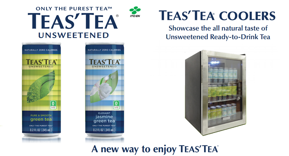 Free Cooler With Purchase Of New Teas' Tea Cans!