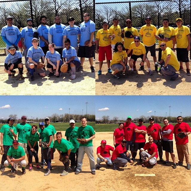 CDC's softball tournament was a hit!