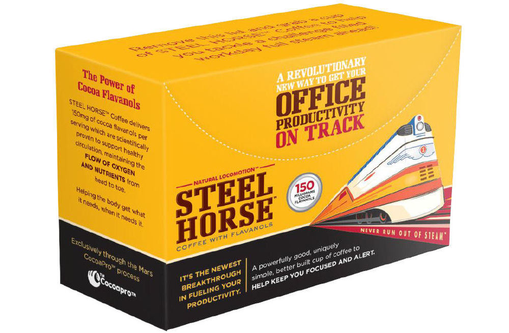 Steel Horse Packed 16 Per Box, 5 Boxes Per Case