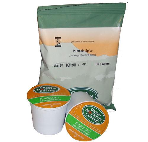 GMCR Pumpkin Spice: Ground Or K-Cup