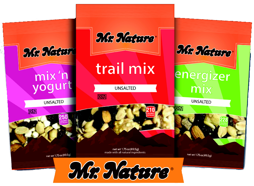 Mr. Nature: New Look, Same Great Nuts & Mixes