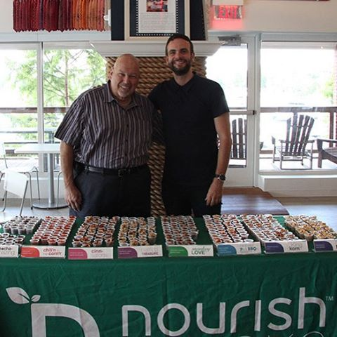 Joint tasting with our friends @nourishsnacks