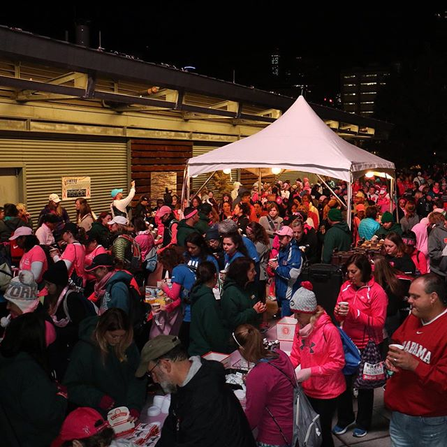 For the 4th straight year, CDC's caffeine tent at the opening ceremony of the NYC Avon Walk To End Breast Cancer was a huge hit! Congrats to all of the walkers who completed the full 39-mile course (and raised $8.7 million) this weekend! #powerof39