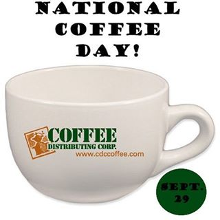 Happy #nationalcoffeeday from your friends at CDC! 🇺🇸☕️❤️