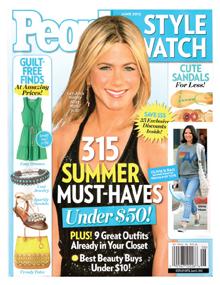 Olivia Munn, PEOPLE Article, Sheepskin Vegan Fur, June 2012
