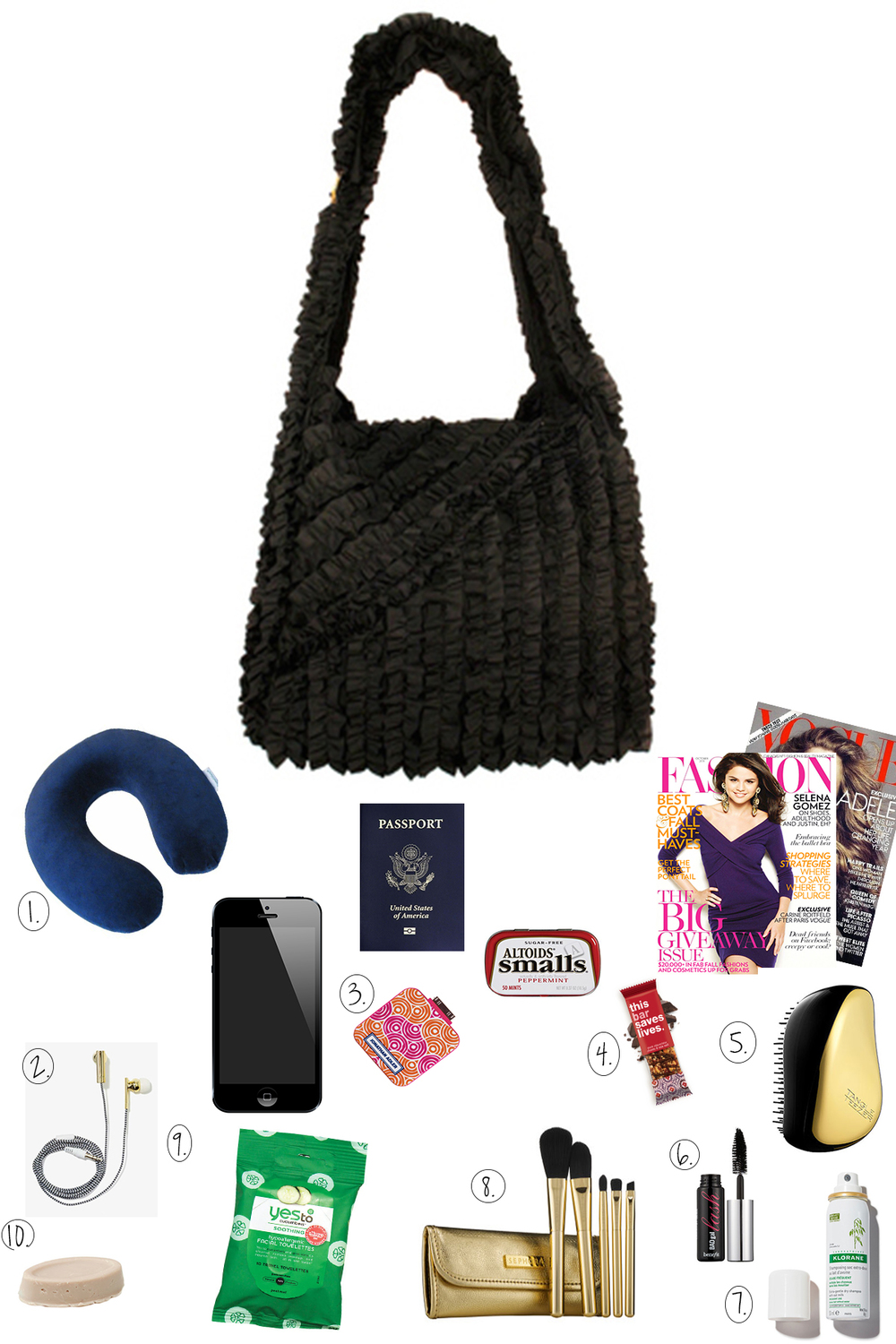 7c58b96323 Here s what we love to pack in our Vine Street Market tote bag