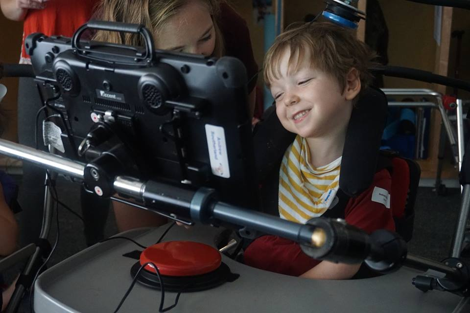 All of our activities are adapted for AAC users to fully participate.