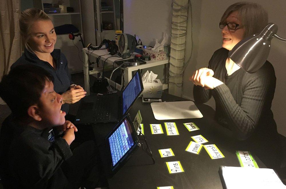 Jose, Karen, and Laurabeth during SLP Session.jpg