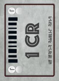 Credit Chip Card Deck