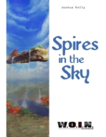 Spires in the Sky   DTRPG (color softcover, $9.99)   Amazon (color softcover, $9.99)   DTRPG (PDF, $7.99)