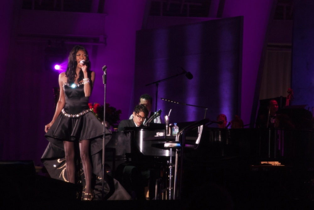 Shahla Dorriz Haute Couture Natalie Cole Hollywood Bowl