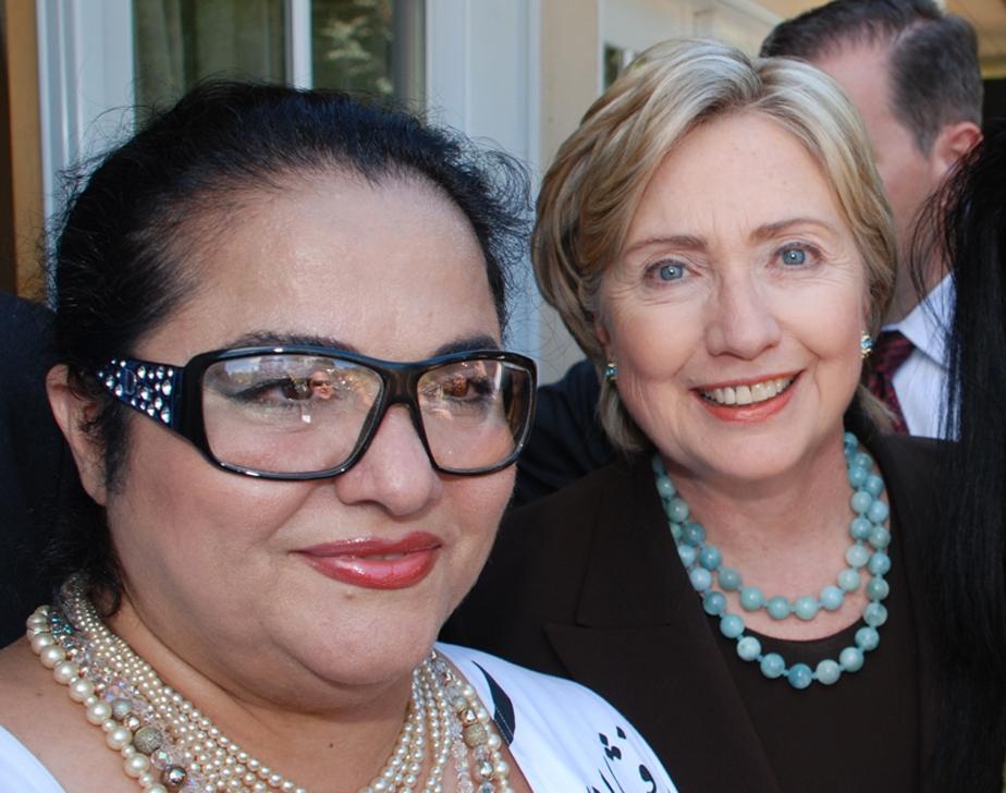 Shahla Dorriz Haute Couture Hillary Clinton