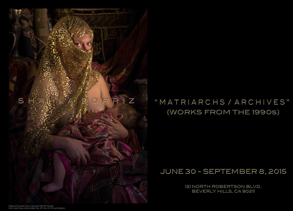 """Shahla Dorriz, """"Matriarchs / Archives"""" (Works from the 1990s)"""