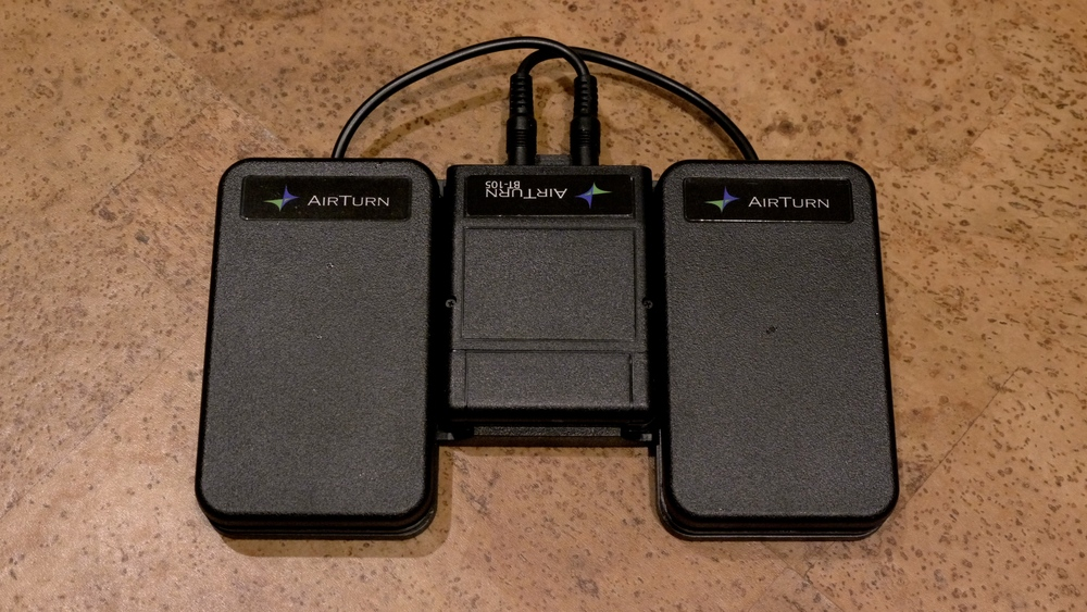 The AirTurn BT-105—an essential tool for the iOS musician