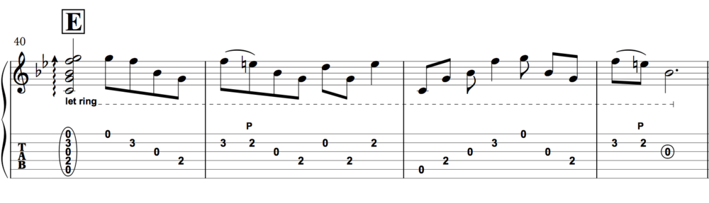 Such dreamy arpeggios. Stomp on your chorus box and sway to the music.