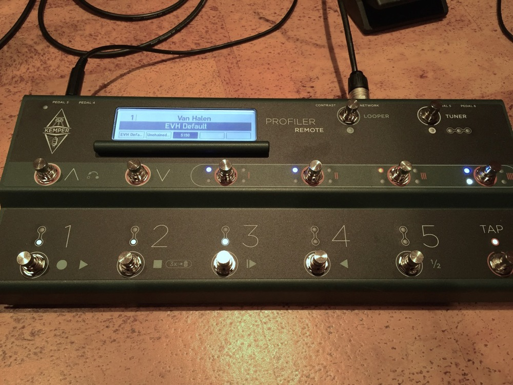 The Kemper Remote is solid, feature-rich companion for the Profiling Amp.