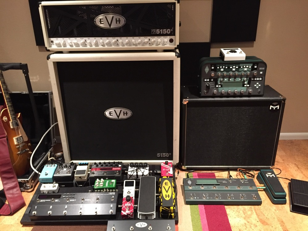 If both rigs produce the same quality of tone, which would you rather haul around and set up?