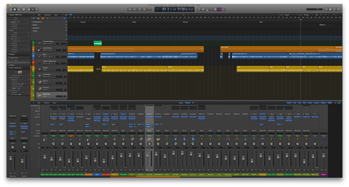 It doesn't count until it's out of my head and into Logic Pro X.
