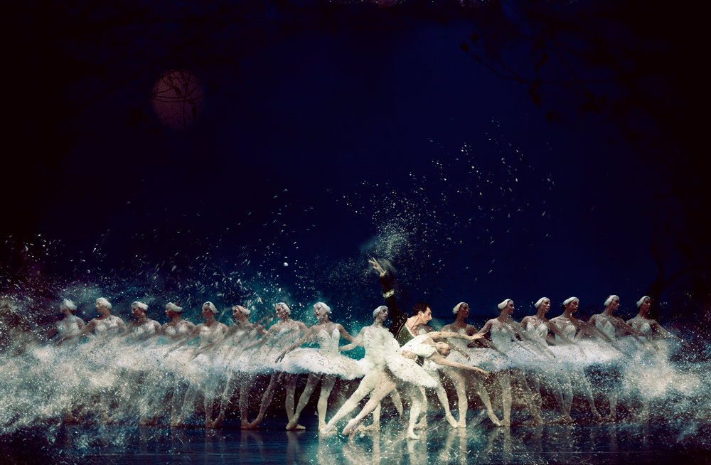 Matthew Bournes Swan Lake copyright reproduction under fair-use-law
