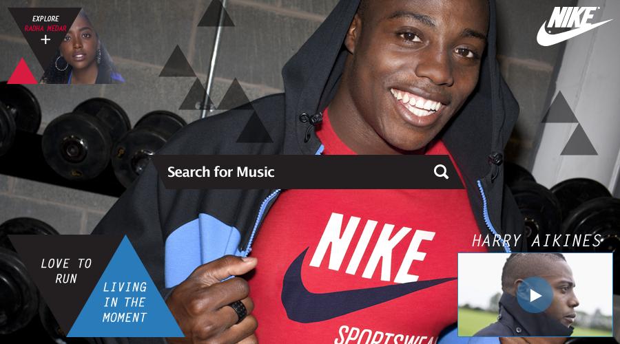 Grooveshark x Nike
