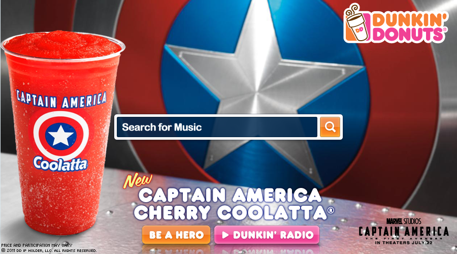 Grooveshark x Dunkin' Donuts