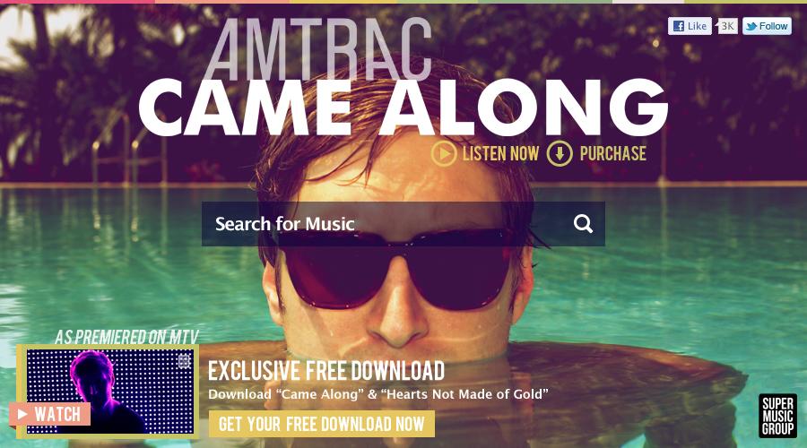 Grooveshark x Amtrac