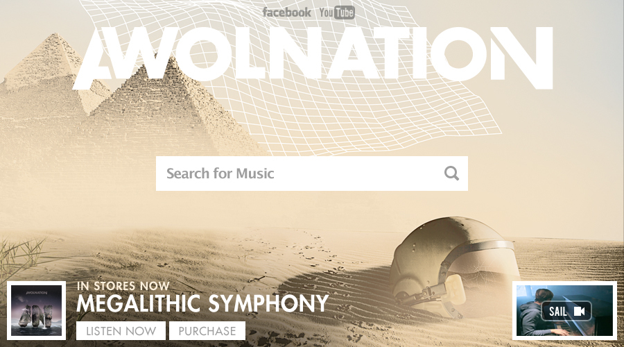 Grooveshark x Awolnation