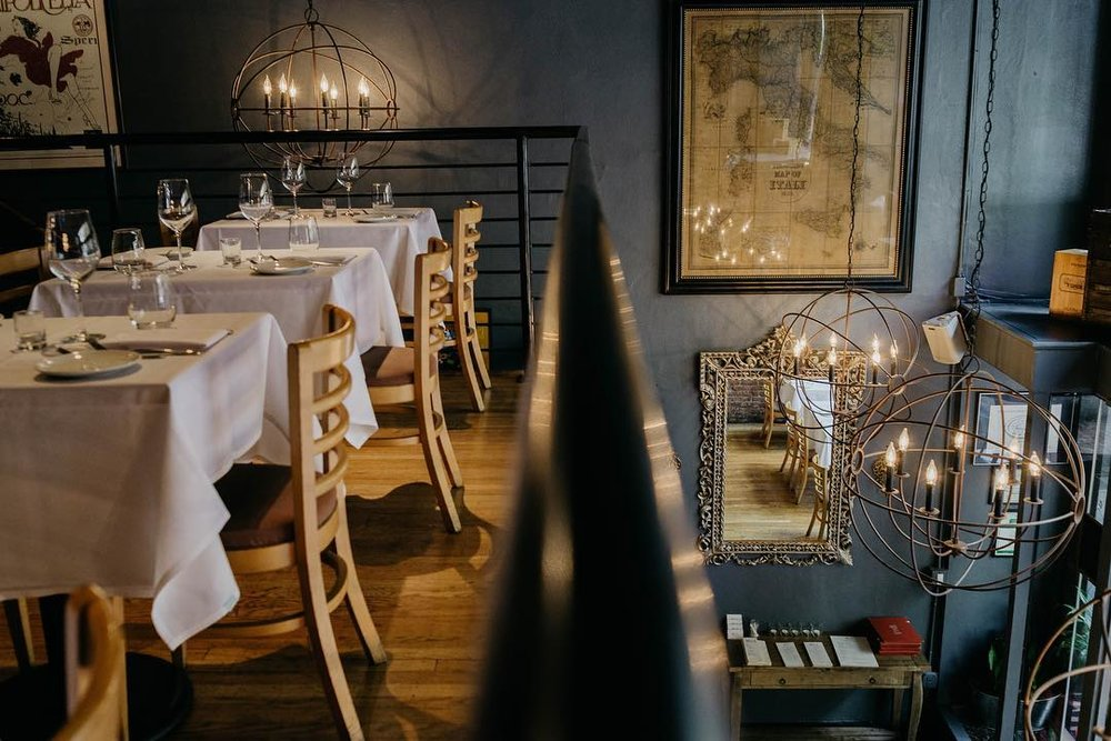 PRIVATE DINING - Located in the heart of Downtown Portland. Our private dining room seats up to 28 guests in a variety of table configurations. Every detail is carefully crafted by our dedicated staff & chefs to suit your style to make a wonderful event.