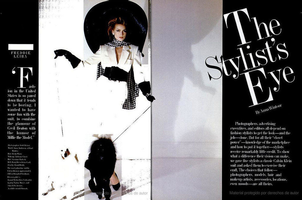 New York Magazine 1983 by Anna Wintour