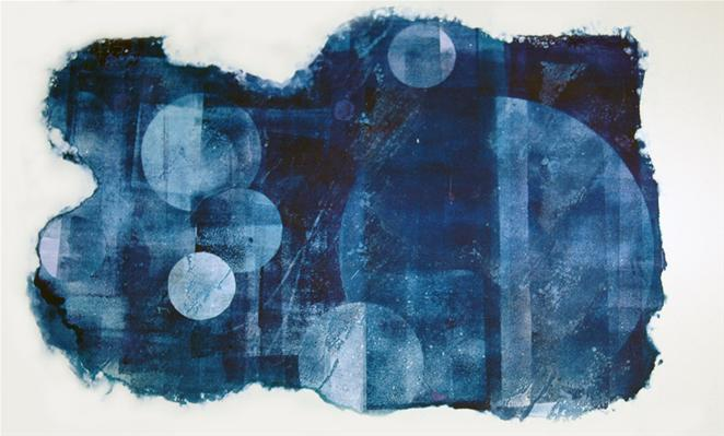 Monotype in private collection.