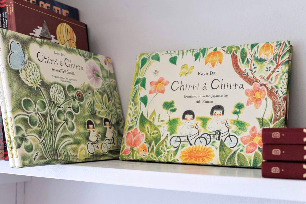 Chirri & Chirra books by Kaya Doi