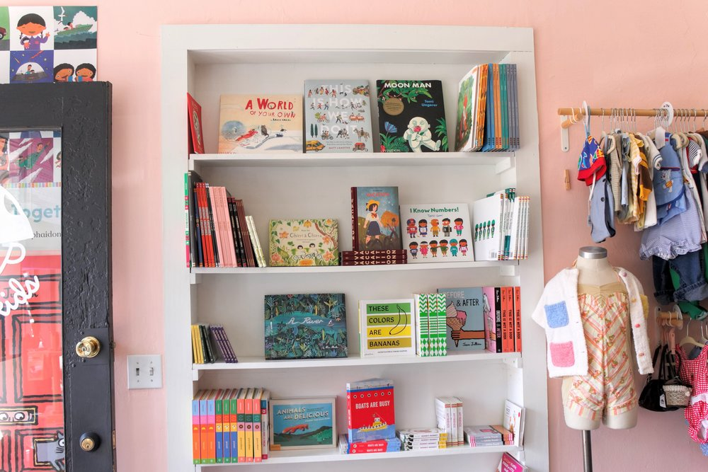 A very well curated kids book collection