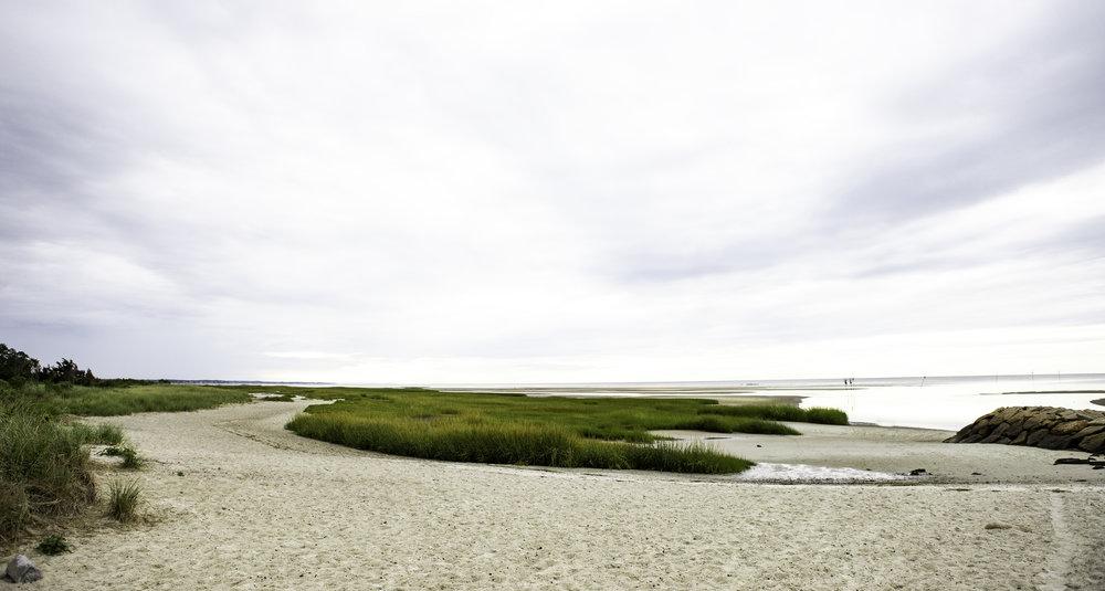 Rock Harbor at low tide